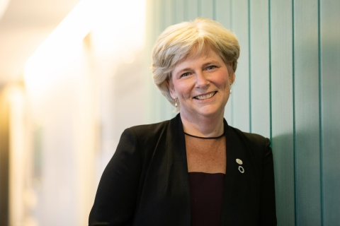 Portrait of Nancy Ross, Associate Vice-Principal