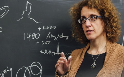 McGill professor and astrophysicist Victoria Kaspi