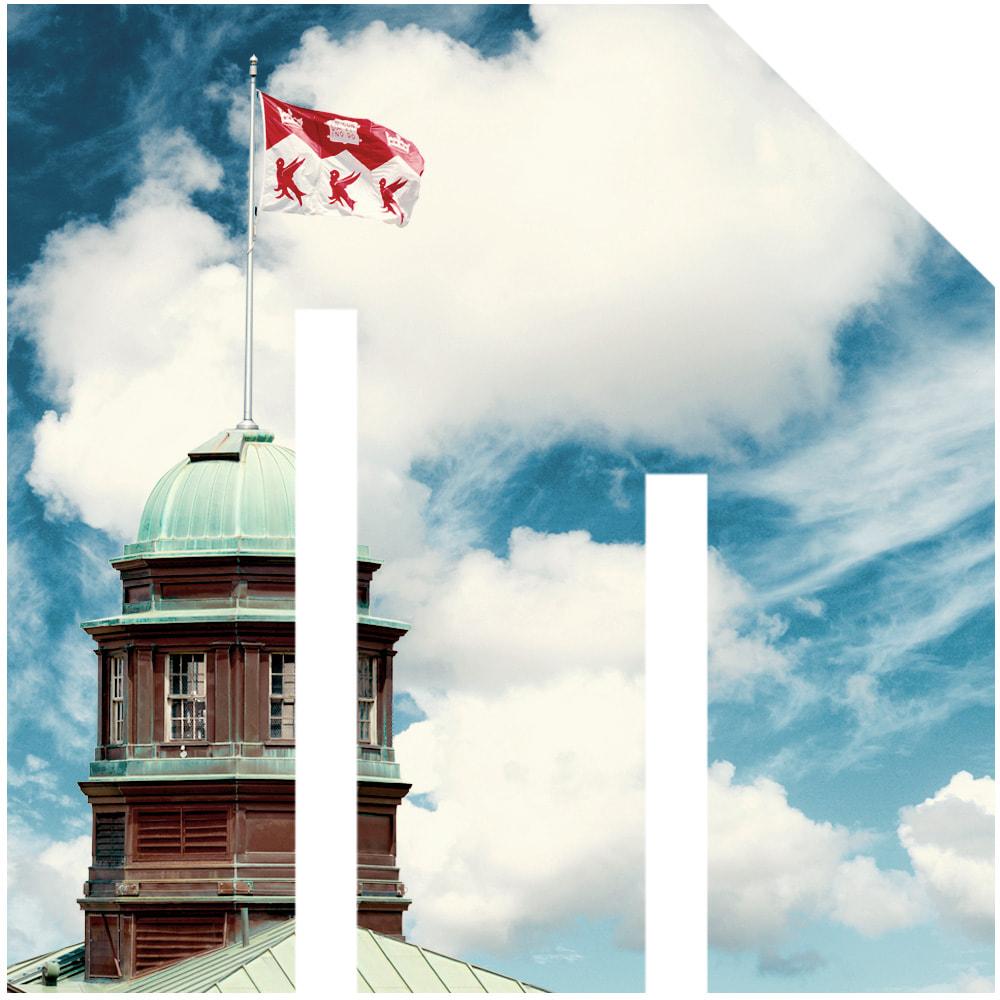 Image of McGill University Arts building's cupola
