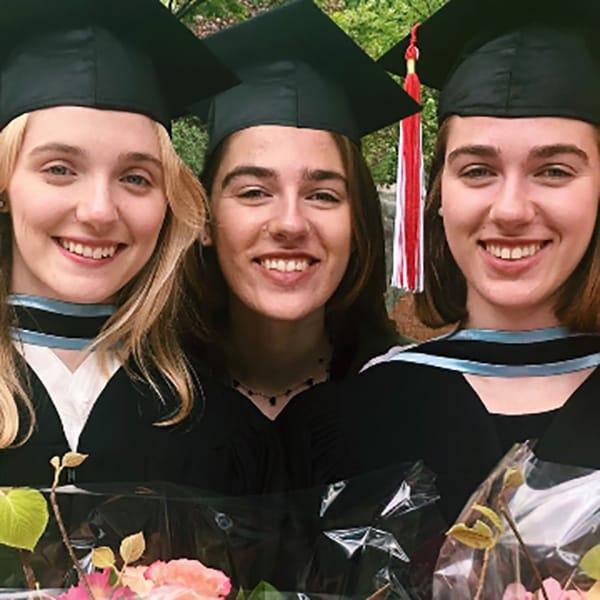 The Giordano sisters (Peggy, Angelina and Tina)