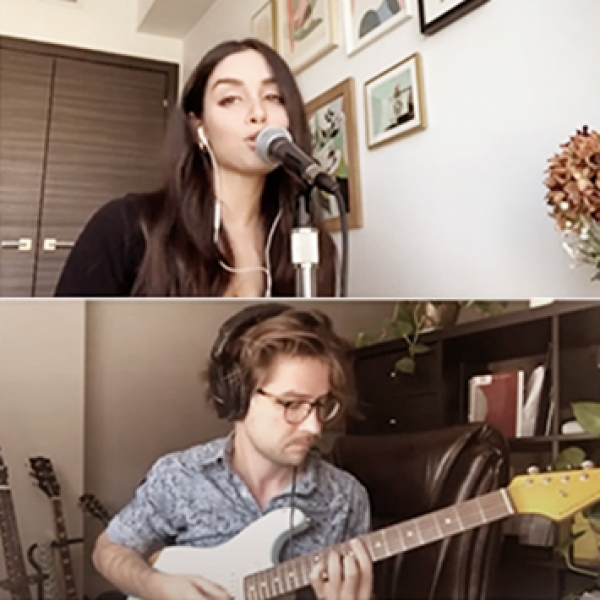 Artists from McGill playing music of all genres live from their living rooms