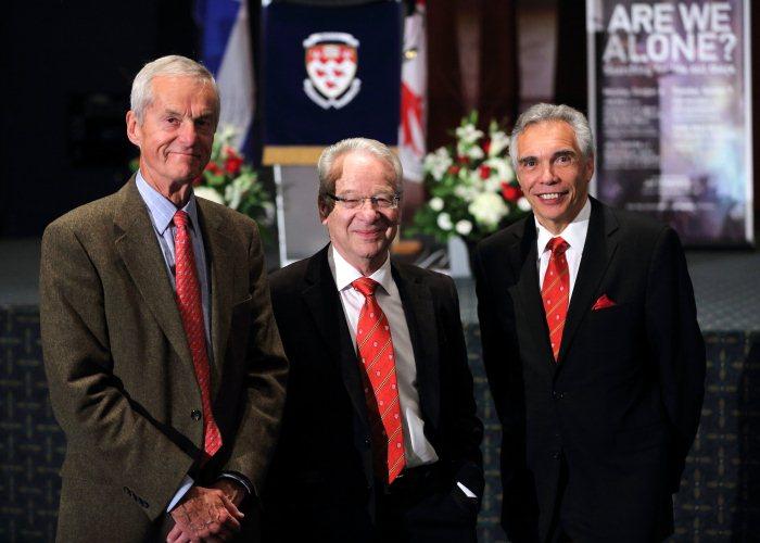 Drs. Joe Schwarcz, Ariel Fenster and David Harpp