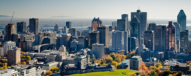 McGill's main campus is set upon 32 hectares at the foot of Mount Royal in the heart of downtown Montreal.