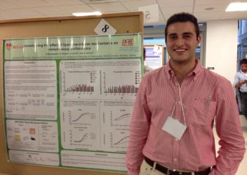 Farah Musharbash presents his U0 summer research in immunoassays at McGill's Bio