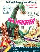 Poster - The Redpath Museum proudly presents Sea Monster - the Loch Ness Monster - legend biology and possibility