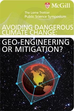Avoiding dangerous climate change: Geo-engineering or mitigation?