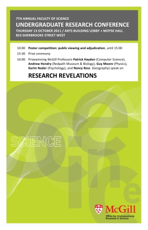 Poster for URC 2011