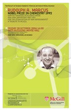 POSTER: Special lecture by Dr. Rudolph Marcus,