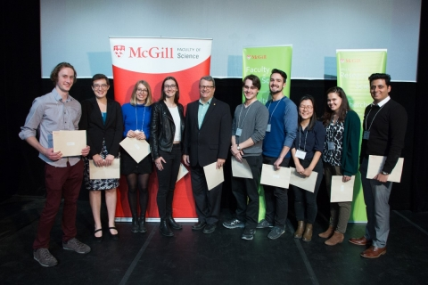 Prizewinners, 2017 Undergraduate Research Conference