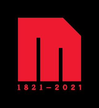 Logo rouge du bicentenaire de McGill