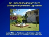 Exciting developments at the Bellairs Research Institute