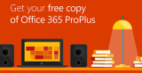 Get your free copy of Office 365 ProPlus