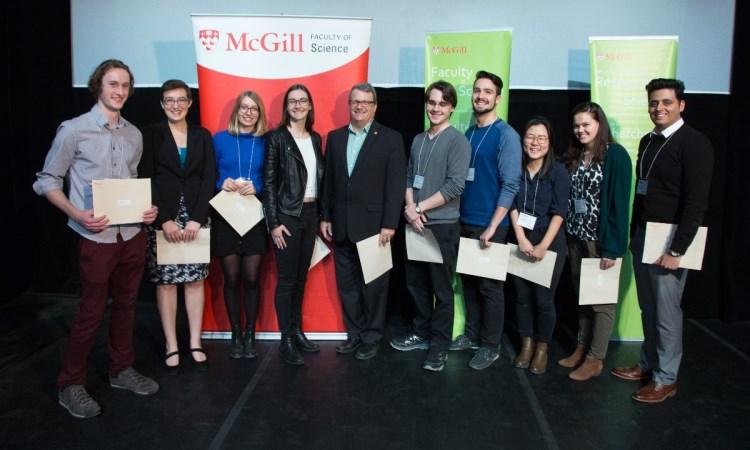 2017 Undergraduate reserach conference prizewinners