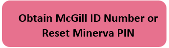 Obtain McGill ID Number or Reset Minerva PIN
