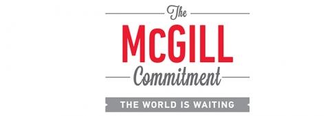 McGill Commitment logo