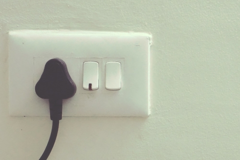 Plug in wall socket