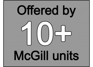 Offered by 10+ McGill units