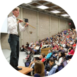 Teaching in a large classroom