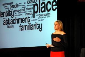Bree Akesson presents at TedXMcGill