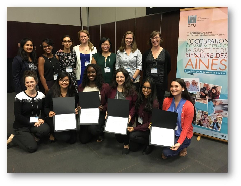 McGill SPOT OT Students Sweep OEQ Congress Poster Awards