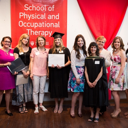 recipients of Awards from the OT associations:  OEQ, CAOT and COTF
