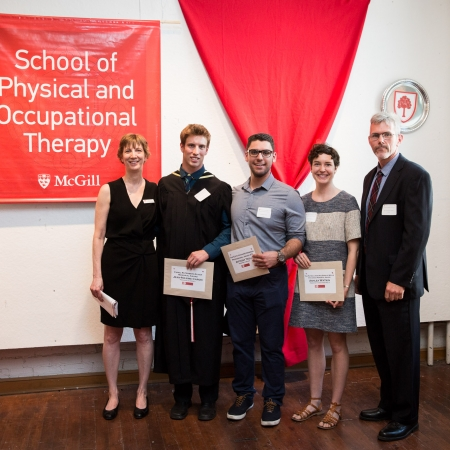 recipients of Physiotherapy awards