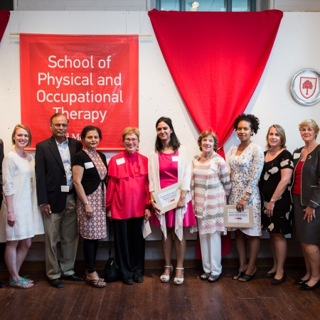 recipients and presenters of Graduate awards, prizes and fellowships