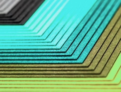 colourful card stock