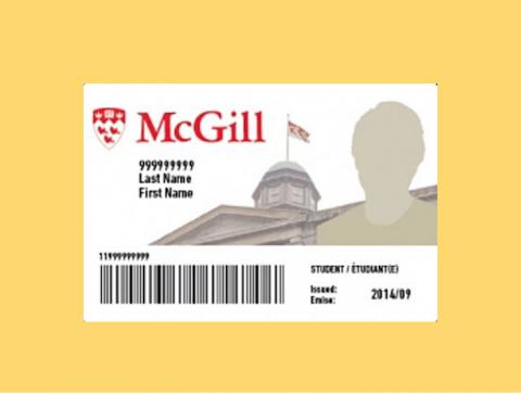 McGill ID card