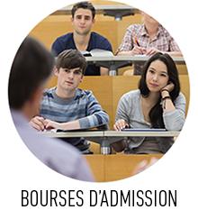 Bourses d'admission