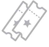 Pair of tickets icon