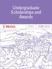 McGill University 2009-2010 Undergraduate Scholarships and Awards Calendar