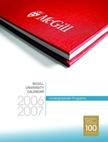 Undergraduate Programs Calendar 2006-07