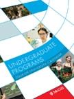 2008-09 Undergraduate Programs Calendar