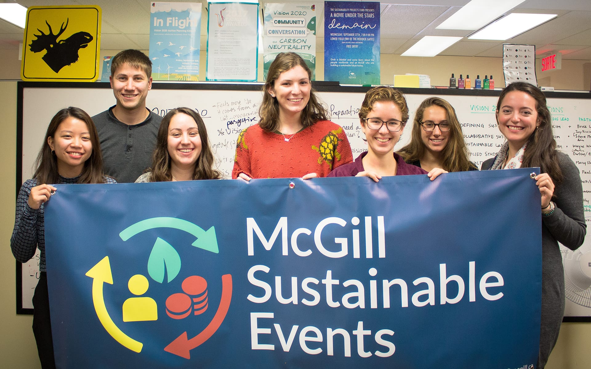 McGill Sustainable Events team.