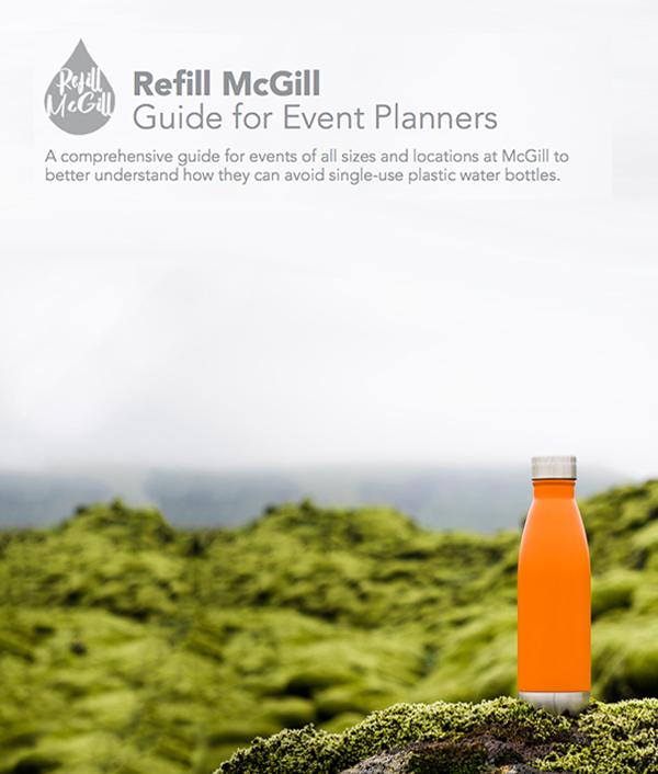 Refill McGill Guide for Event Planners