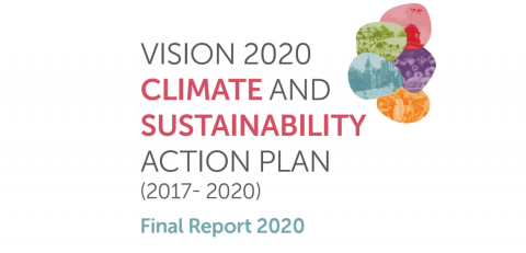 Vision 2020 Climate and Sustainability Action Plan 2017-2020 Final Report