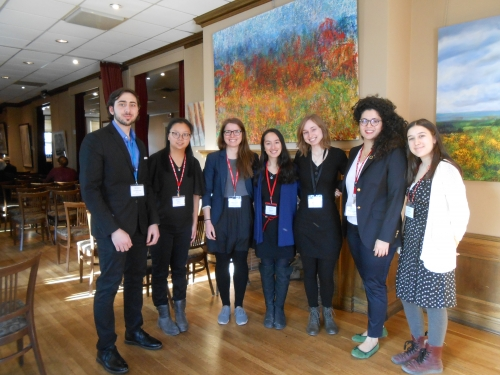 Team photo of the Sustainability Research Symposium.