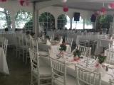 Outdoor wedding at Tadja Hall