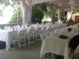 Terrace wedding at Tadja Hall