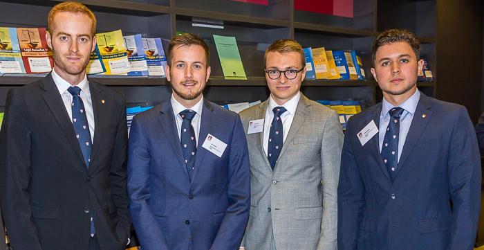 Daniel Stysis, Ian Attema, Jacob Heyka, Oleg Stratiev