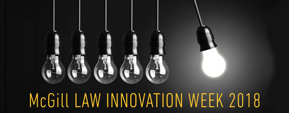 Join the Stikeman Chair during Innovation Week 2018.