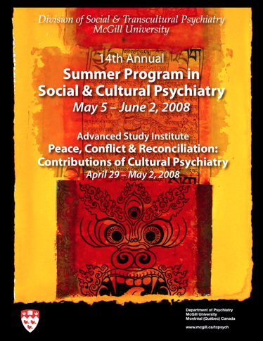 Summer Program in Social and Cultural Psychiatry 2008