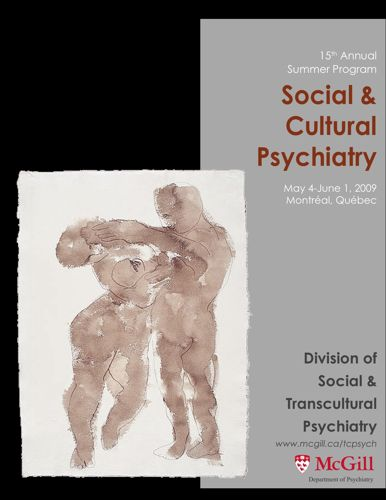 Summer program, Social and cultural psychiatry 2009