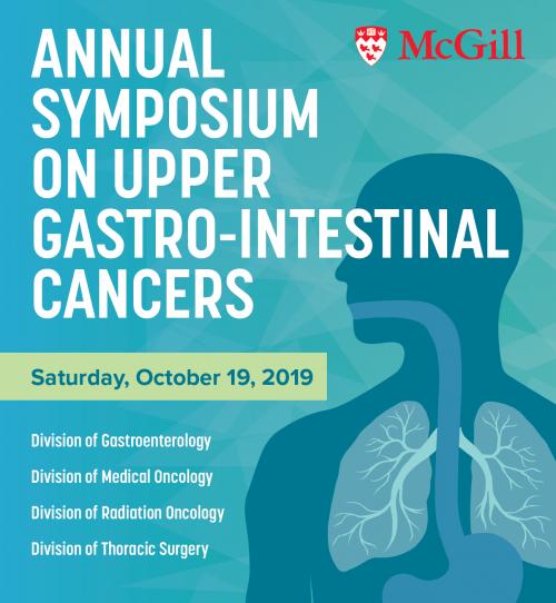 Upper Gastro-Intestinal Cancers Symposium 2019 | Division of