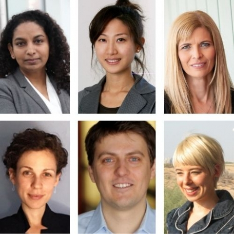 headshot of: Laxmi Sushama, Mary Kang, Viviane Yargeau, Theodora Vardouli, Jan Kopyscinski,Melanie Tetreault-Friend