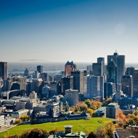image overlooking Montreal