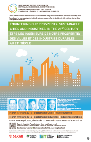 Symposium: Engineering our prosperity: sustainable cities and industries in the