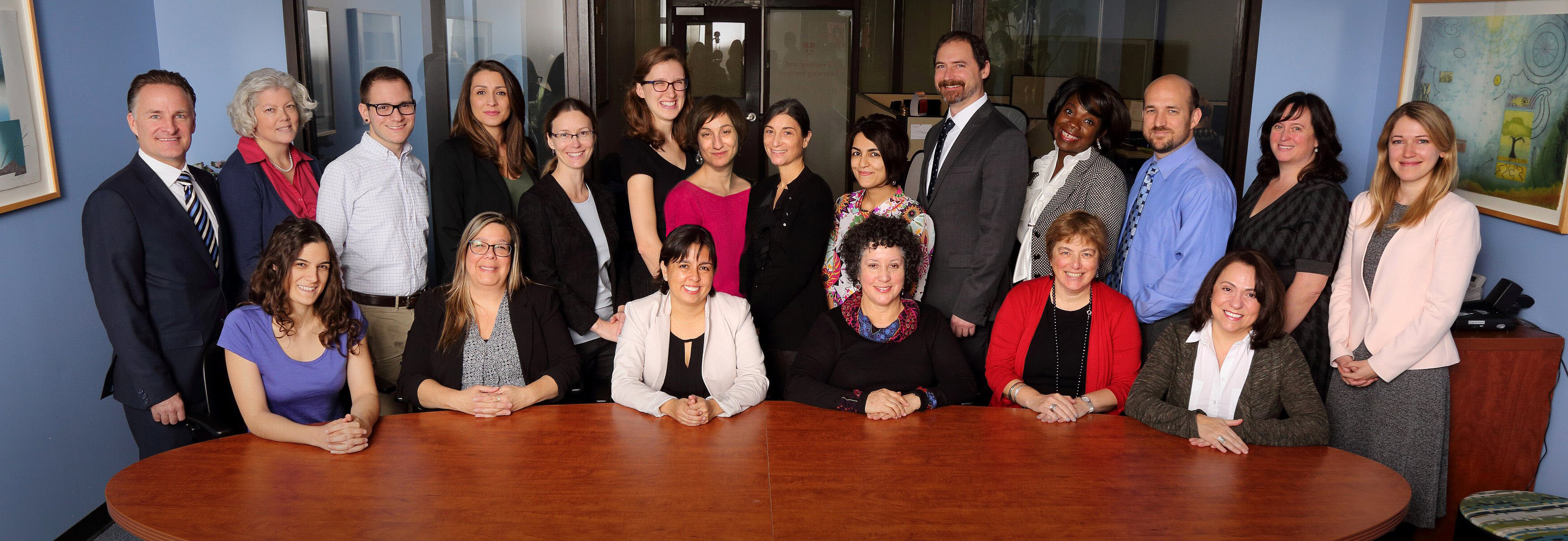 Group photo of TLS staff members
