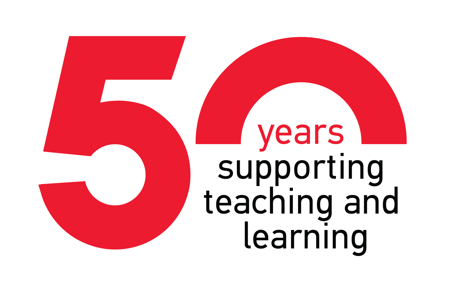 50 years supporting teaching and learning